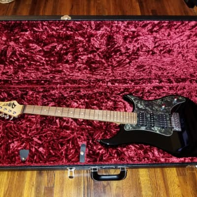 Vigier Excalibur  Stratocaster Shiny Black Made In France Fender G&G Hard Case Custom  DiMarzio Pickups Elixir Strings Shop Perfection for sale