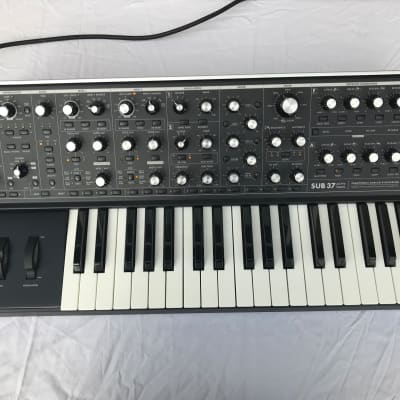 Moog Sub 37 with Upgraded Wood Frame Ends