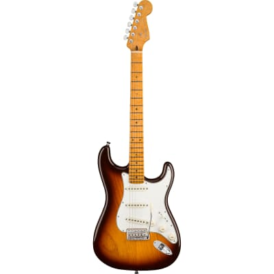 Fender Custom Shop American Custom Stratocaster NOS Antique Burst MN avec étui, sangle et certificat d'authenticité for sale