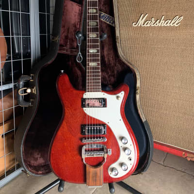 Epiphone Crestwood Custom Cherry 1965 w/ HSC for sale