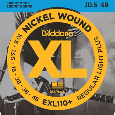 D'Addario XL Nickel Electric Strings - 10.5-48