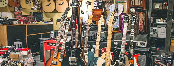 Boutique à l'honneur : Guitars Addicts