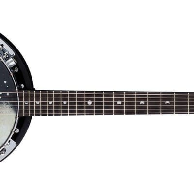 Luna Moonbird BGB MOON 6E Acoustic Electric 6 String Closed Back Banjo for sale