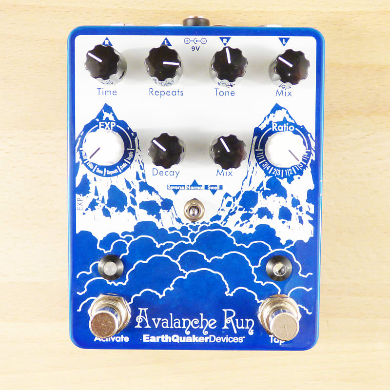 earthquaker devices avalanche run delay reverb guitar reverb. Black Bedroom Furniture Sets. Home Design Ideas