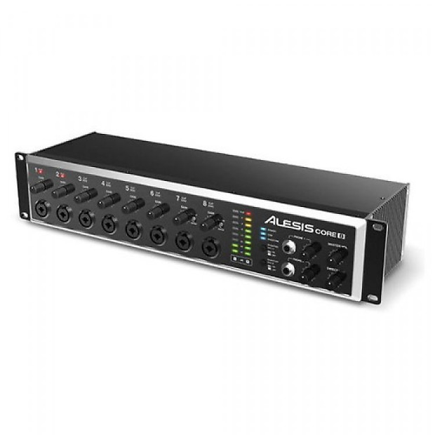 alesis core 8 rackmount usb 2 0 8 channel audio interface reverb. Black Bedroom Furniture Sets. Home Design Ideas