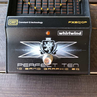 Whirlwind Perfect Ten 10-Band Graphic Equalizer for sale