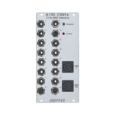 Doepfer A-192 CV to MIDI Interface