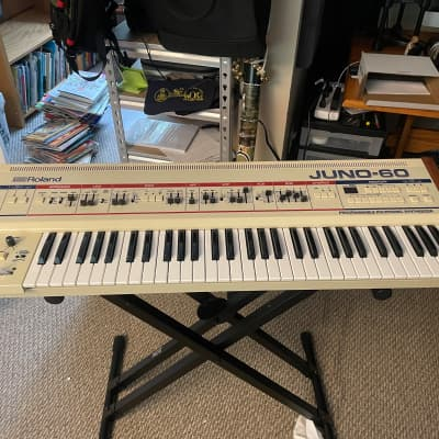 Roland Juno-60 61-Key Polyphonic Synthesizer [JUST SERVICED]