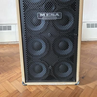Mesa Boogie Standard PowerHouse 8x10 Bass Cabinet - 2017 Cream and Black for sale