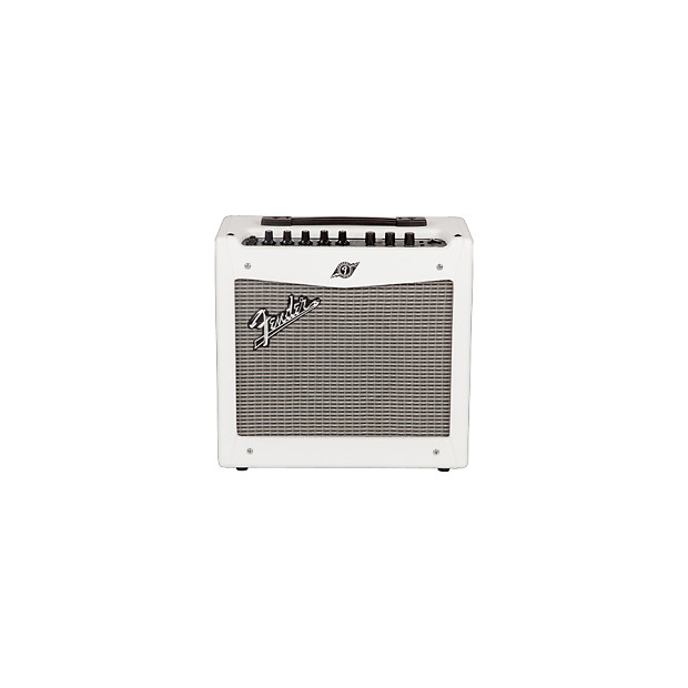 fender mustang i v 2 snow white limited edition 20w 1x8 reverb. Black Bedroom Furniture Sets. Home Design Ideas