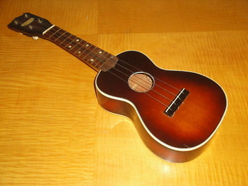 1930 39 s harmony roy smeck ukulele uke sunburst finish reverb. Black Bedroom Furniture Sets. Home Design Ideas