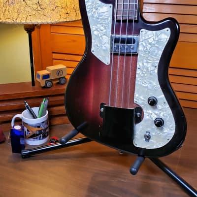 Orpheum Guyatone Model 1202 Bass 1958 Sunburst w/OHSC for sale