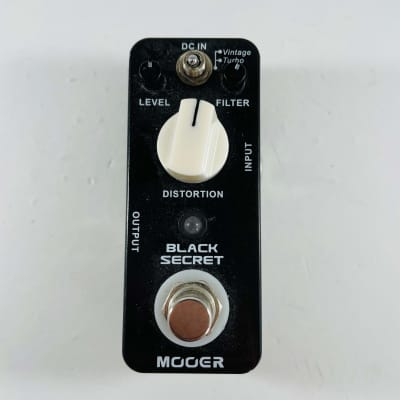 Mooer Black Secret Distortion *Sustainably Shipped*