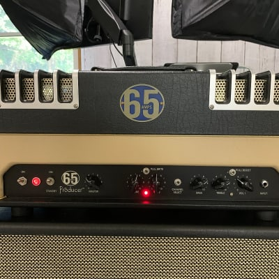 65 Amps Producer 84 Head & Footswitch for sale