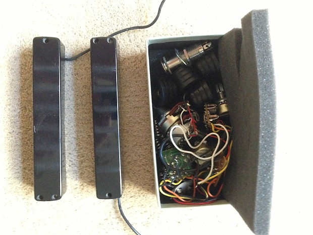 Ibanez Fugigen IBZ J6 Six String Bass Pickups with preamp | Reverb