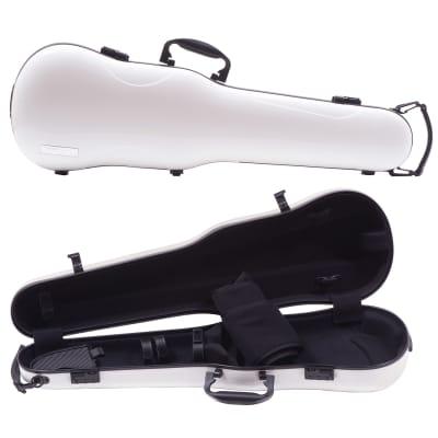 Gewa Gewa Air 1.7 Shaped White Violin Case with Black Interior