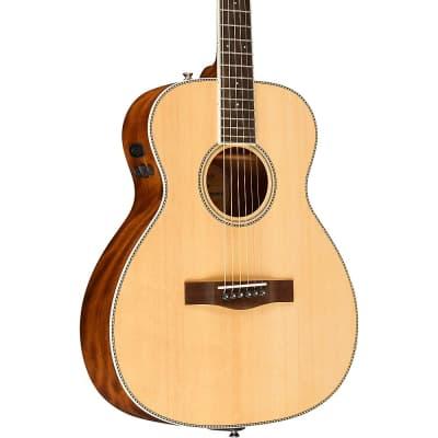 Fender PM-TE Standard Travel Acoustic-Electric Guitar Regular Natural