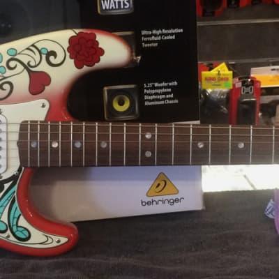 1997 Fender Custom Shop Jimi Hendrix Monterey Pop Stratocaster Electric Guitar for sale