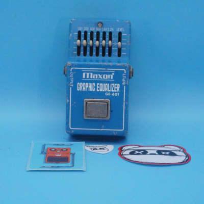 Maxon GE601 Graphic Equalizer   Rare 1980s EQ (3x MC1458P)   Fast Shipping!