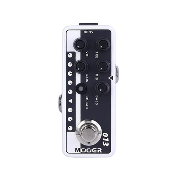 Mooer Matchbox Micro Preamp Pedal 013 (Boutique Vintage Combo) image