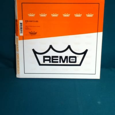 """Remo 13"""" White Max Marching Snare Drum Top (Batter) Head KS-0413-00"""