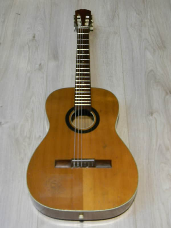 gute vintage 4/4 Klassikgitarre Gitarre classical guitar 1960` Germany ? KLIRA ? image