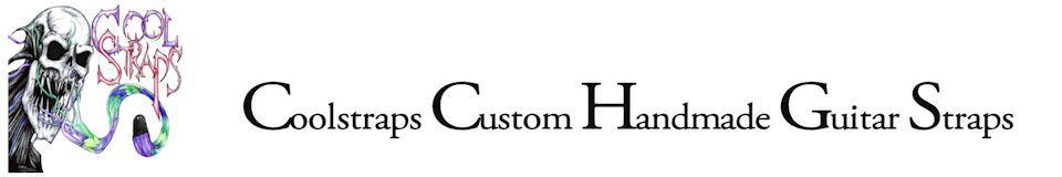 Coolstraps Custom Handmade Guitar Straps
