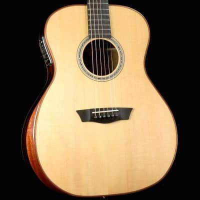 Washburn WCG700SWEK Comfort Series All Solid 6-String Acoustic-Electric Guitar w/Hard Case - B-Stock