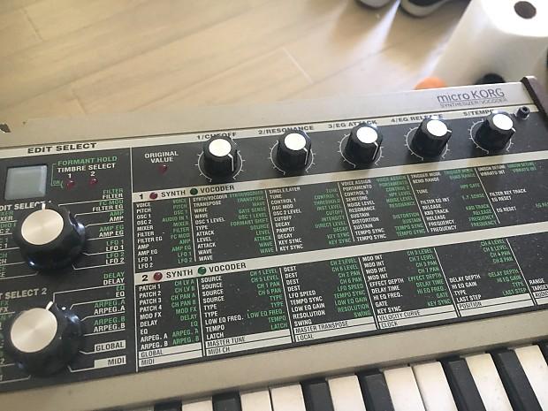 Korg Microkorg vocoder synthesizer | Coley's