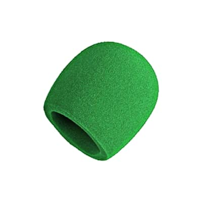 Shure A58WS Green Windscreen For Ball Type Microphones