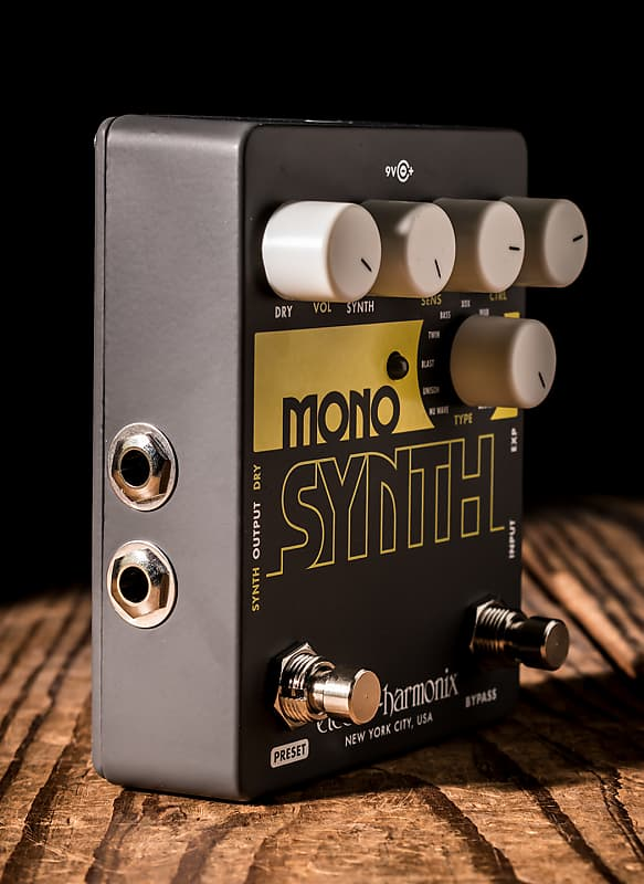 electro harmonix mono synth guitar synthesizer pedal free reverb. Black Bedroom Furniture Sets. Home Design Ideas