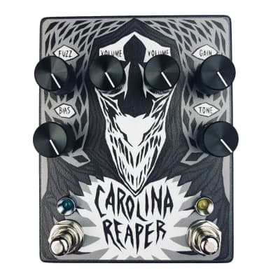 Haunted Labs and Cusack Music's Carolina Reaper Overdrive and Fuzz Effects Pedal