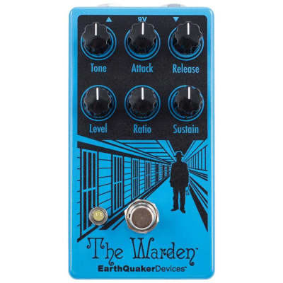 EarthQuaker Devices Warden V2 The Warden V2 Optical Compressor Effects Pedal for sale