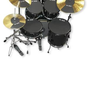 vic firth mutepp6 fusion drum and cymbal mute pack reverb. Black Bedroom Furniture Sets. Home Design Ideas