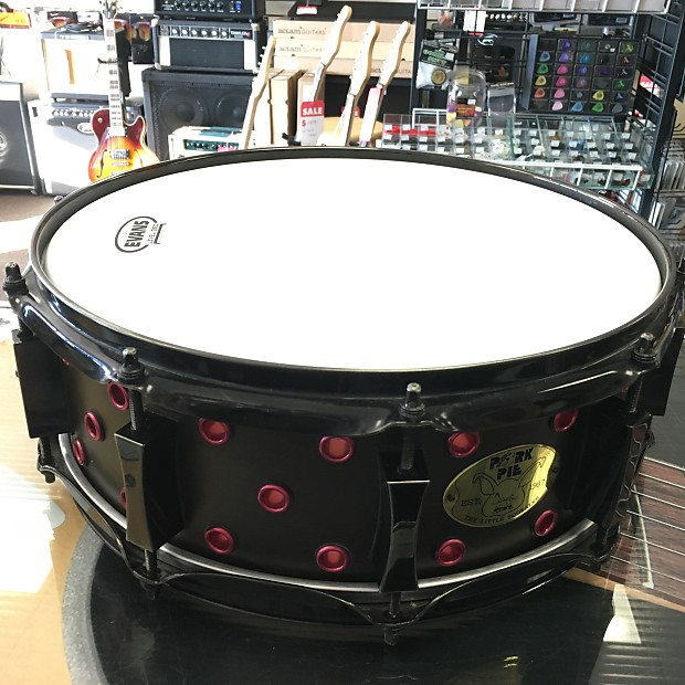 Pork Pie Little Squealer 14x5 16-ply Maple Vented Snare w/ | Reverb