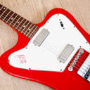 1966 Gibson Firebird V Non-Reverse Vintage Electric Guitar Ember Red, 100% Original w/ Case