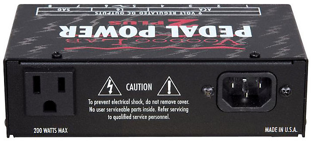 voodoo lab pedal power iso 5 power supply recording store reverb. Black Bedroom Furniture Sets. Home Design Ideas