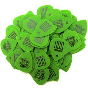 Dunlop Guitar Picks  Tortex III   72 pack  .88mm  462R.88