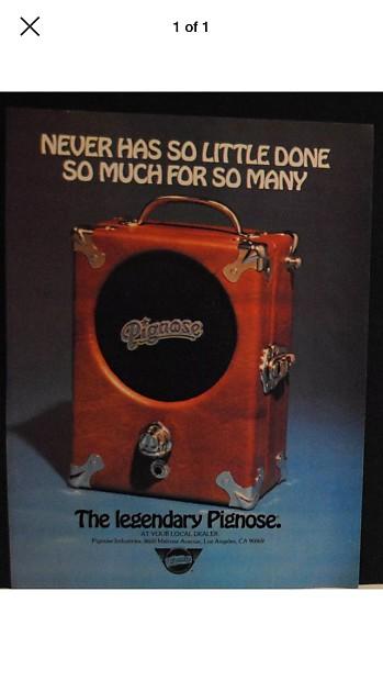 vintage pignose amp