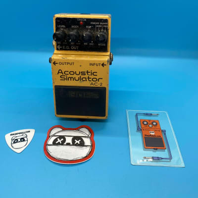 Boss AC-2 Acoustic Simulator Pedal   Fast Shipping!