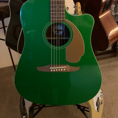Fender Redondo Player Electric Jade with  gig bag