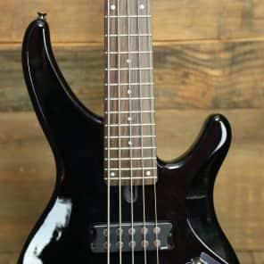 Yamaha TRBX305-BL 5-String Bass Black w/ Rosewood Fretboard