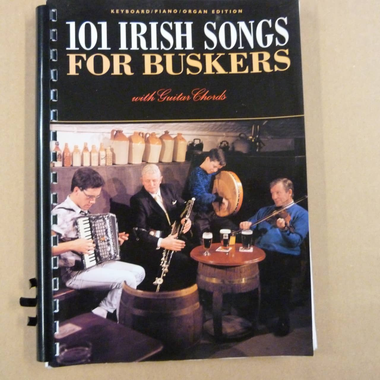 Songbook 101 Irish Songs For Buskers Piano Organ Ed With Reverb