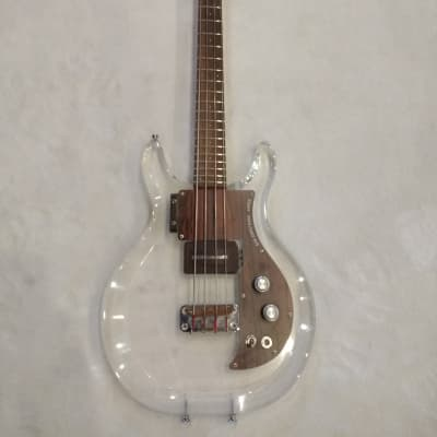 Ampeg Dan Armstrong Lucite Bass Clear 1969 for sale