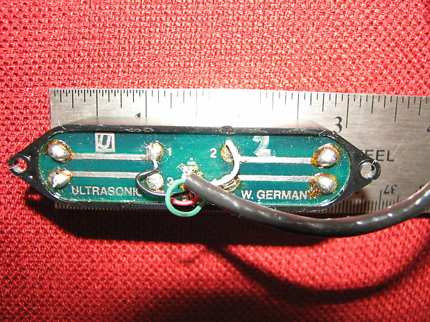 ultrasonic w germany single coil sized 4 wire humbucker reverb. Black Bedroom Furniture Sets. Home Design Ideas