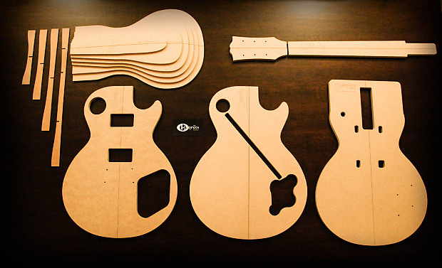 Henriks Guitars 59 Les Paul Template Set
