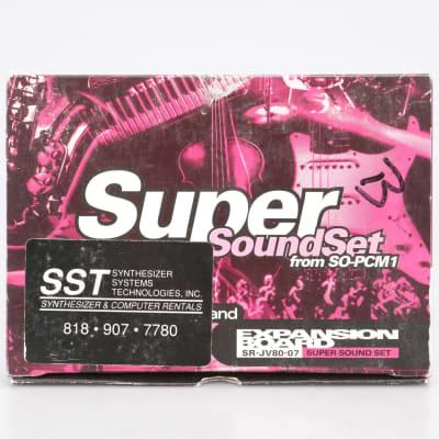 Roland SR-JV80-07 Super Sound Set Expansion Board #41689