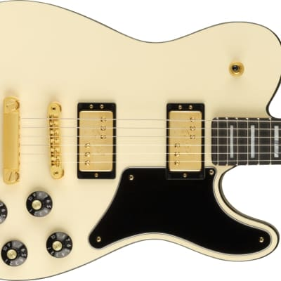 PRE-ORDER: Fender Parallel Universe Volume II Troublemaker Tele Custom - Olympic White for sale