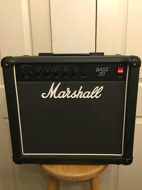 marshall bass 20 model 5502 combo amp reverb. Black Bedroom Furniture Sets. Home Design Ideas