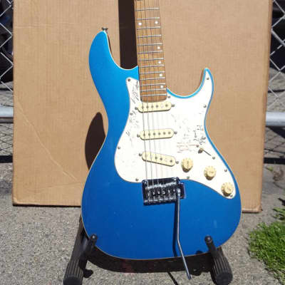 Master Electric Guitar Blue for sale